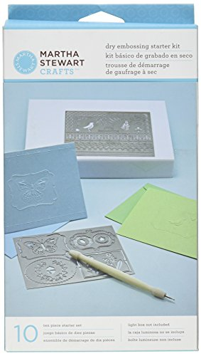 Martha Stewart Crafts Dry Embossing Kit (Embossing Starter Kit compare prices)