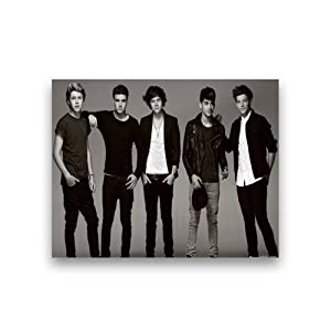 One Direction Custom Poster 14*11 from beadsdreamstore