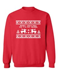 Festive Threads Christmas Crewneck Sweatshirt