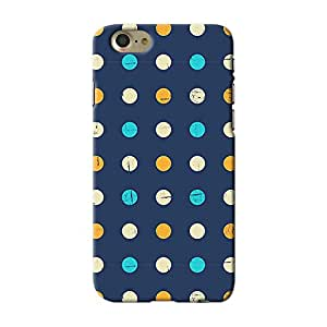 ArtzFolio Polka Pattern : Apple iPhone 7 Matte Polycarbonate ORIGINAL BRANDED Mobile Cell Phone Protective BACK CASE COVER Protector : BEST DESIGNER Hard Shockproof Scratch-Proof Accessories : Abstract