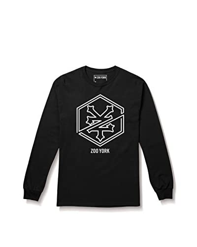 Zoo York Camiseta Manga Larga Auburn Negro