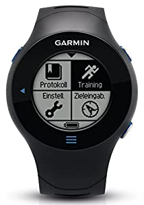 Garmin GPS Laufuhr Forerunner 610 HR - GPS Trainingscomputer inkl. Brustgurt