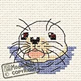 Mouseloft Mini Cross Stitch Kit Baby Seal By the Seaside Collection