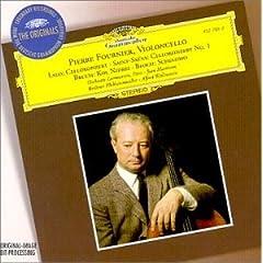 輸入盤ピエール・フルニエ(Vc)  サン=サーンス:チェロ協奏曲ほかの商品写真