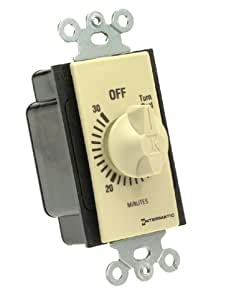 Intermatic Fd30mc 30 Minute Spring Loaded Wall Timer Ivory Wall Timer Switches