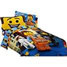 Lego the Movie Full Comforter Sheet Set