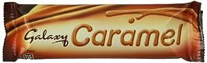 Galaxy Caramel Twin 48 g (Pack of 24)