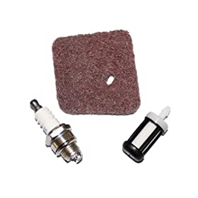 New Pack of Air Filter Fuel Filter Spark Plug fit for Stihl FS38 FS45 FS46 FS55 HS45 FC55 # 4140-124-2800