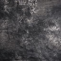 CowboyStudio 100% Cotton Hand Painted 6ft X 9ft Tie Dye Gray Muslin Video/Photo Background