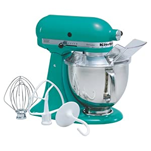 KitchenAid KSM150PSSU Artisan Series Tilt-Head 5-Quart Stand Mixer