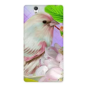 Spring Bird Back Case Cover for Sony Xperia C4
