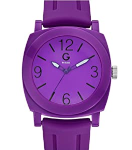 G by GUESS Women's Purple Sport Strap Watch