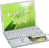 [中古PC] Panasonic Let's note W4 (Centrino P-M753, 512MB, 12.1