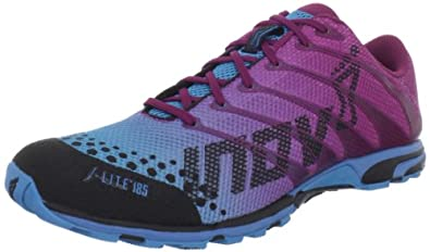 Inov-8 Women's F-lite 185 Cross-Training Shoe,Pink/Blue,5.5 M US
