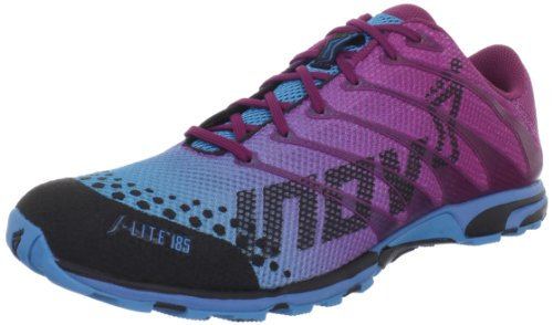 Inov-8 Women's F-lite 185 Cross-Training Shoe,Pink/Blue,10 M US