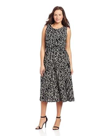 Jessica Howard Women's Plus-Size 2 Piece Ruffle Bolero Jacket With Ruched Waist Dress, Black, 14W