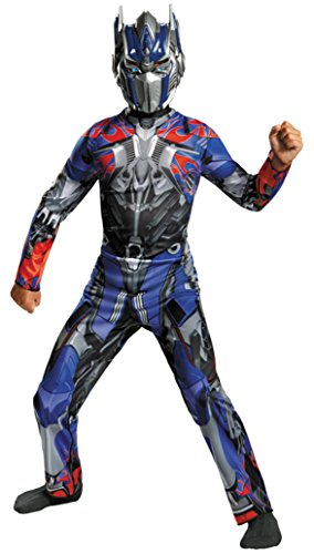 Boys Optimus Prime Classic Kids Child Fancy Dress Party Halloween Costume