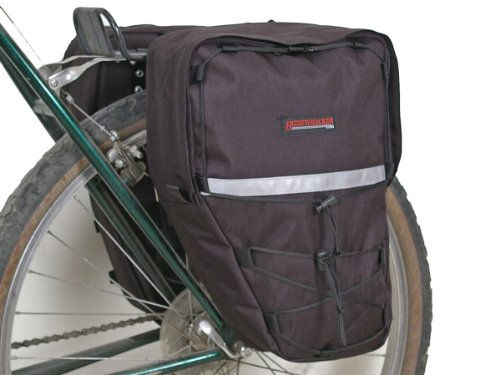 Bushwhacker Moab Black - Bike Pannier Pair