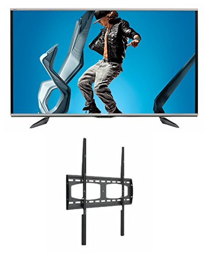 Sharp Lc-80Uq17U 80-Inch Aquos Q+ 1080P 240Hz 3D Smart Led Tv + Universalmounts Uf1090 Flat Wall Mount