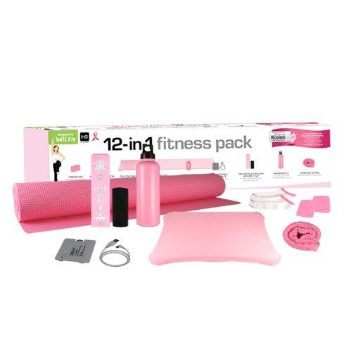 Wii Fit 12-In-1 Fitness Pk-Komen