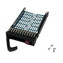 For HP SATA SAS Dual Port Hard DRIVE Tray/Caddy With Screws For HP Compaq 378343-002