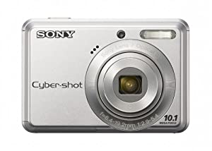 Sony Cyber-shot S930 Digital Camera - Silver (10.1 MP, 3x Optical Zoom) 2.4 inch LCD