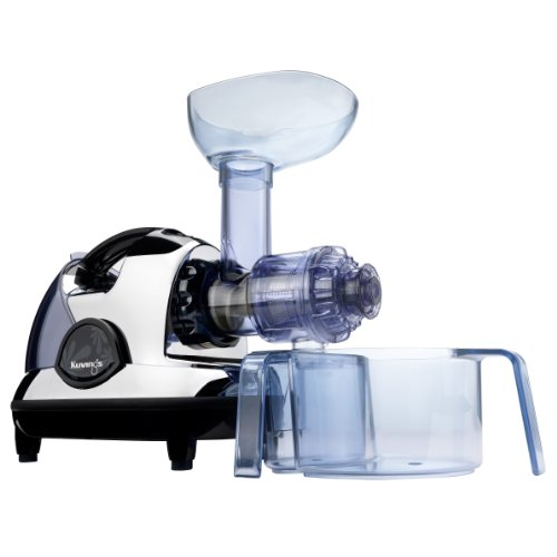 Kuvings NJE-3570U Masticating Slow Juicer, Chrome ~ Juicers