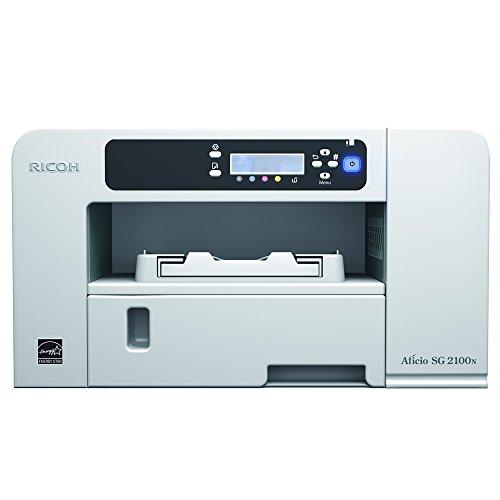 Ricoh Aficio SG 2100N Farbdrucker (3600x1200 dpi, Ethernet 10 base-T/100 base-TX, USB 2.0) grau