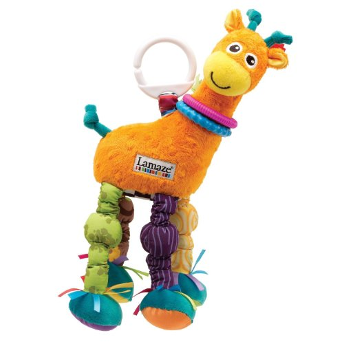Lamaze Play & Grow Stretch the Giraffe Colorful Soft Toy Infant Toys