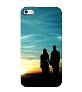 Love moments 3D Hard Polycarbonate Designer Back Case Cover for Apple iPhone 5 :: Apple iPhone 5
