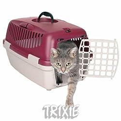 Trixie Capri Pet Carrier (19 x 13 x 12 inch, Dark Grey)
