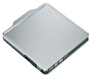 BUFFALO BDXL対応 USB2.0用ポータブルBlu-rayドライブ Wケーブル収納タイプ シルバー BRXL-PC6VU2-SVC