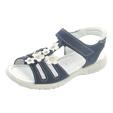 RICOSTA CHICA 6415100/161 Unisex-child Sandal, Blue 26 EU