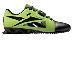 Buy Reebok Mens Running Shoes J96713 Crossfit Lifter Green Leather by Reebok