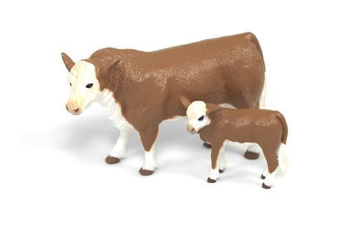 Hereford Cow Calf Pair