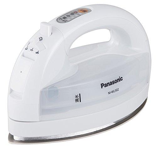 Panasonic コードレススチームアイロン ホワイト NI-WL502-W
