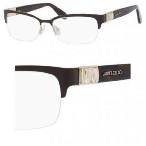 Jimmy Choo JIMMY CHOO Eyeglasses 86 08Tm Brown / Havana 53MM