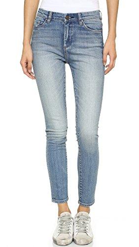 Blank Denim Women's High Rise Ankle Skinny Jeans, Bump & Run, 27