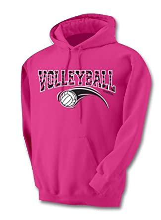 Buy Sports Katz Ladies Zebra Volleyball Hoodie by Sports Katz