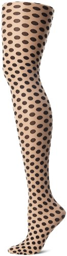 Hue Women's Sheer Dot Tights with Con…