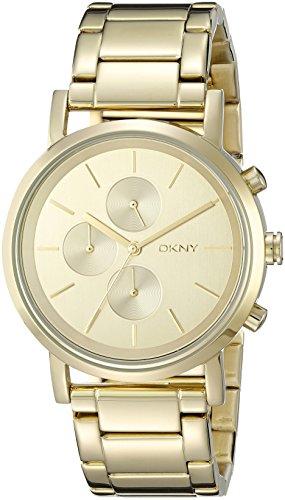 Las mujeres DKNY NY2161 Lexington reloj de pulsera de oro