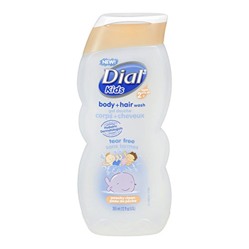 Dial Kids Body Wash, Peachy Clean, 12 Ounce (Dial Soap No Scent compare prices)