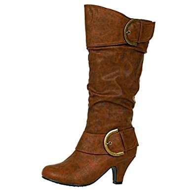 Womens Soft Brown Leather Boots 94
