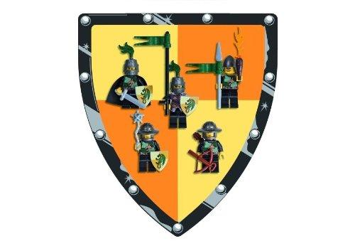 LEGO Kingdoms Mini Figure 5Pack Set #852922 Green Dragon Knights Battle Pack