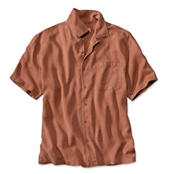 Orvis Mens Tencel Twill Short-sleeved Shirt by Orvis