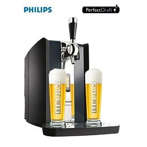 417T3zQW8BL. AA300  Amazon Blitzangebot – Philips HD3620/25 Perfect Draft Bierzapfanlage für nur 139€ inkl. Versand