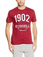 Russell Athletic Camiseta Manga Corta (Burdeos)