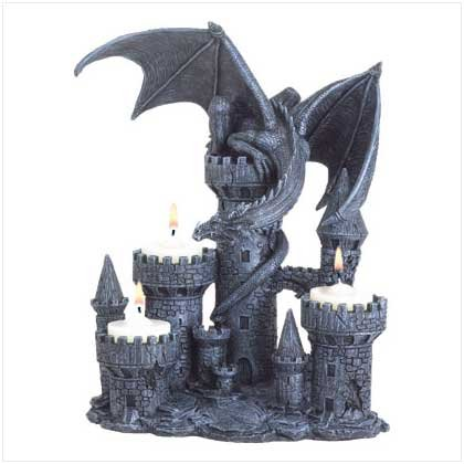 Legendary Decorative Dragon 3 Votive Candle Holder