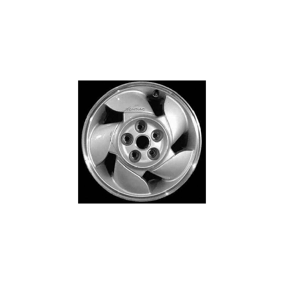 92 96 PONTIAC GRAND PRIX COUPE ALLOY WHEEL RIM 16 INCH, Diameter 16, Width 6.5 (5 SPOKE), MACHINED LIP. MEDIUM SILVER FACE., 1 Piece Only, Remanufactured (1992 92 1993 93 1994 94 1995 95 1996 96) ALY0