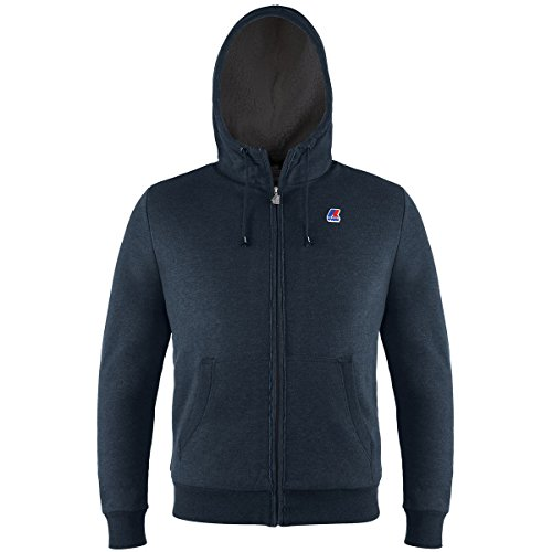 K-Way QUENTIN ORSETTO FLEECE DEPHT BLUE